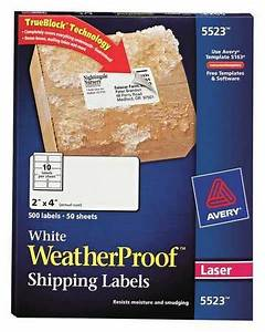 avery avery shipping label for laser printers 5523 pk50 With avery template 5523