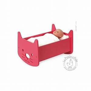 Lit Pour Poupee : lit berceau bois babycat meuble pour poup e janod ~ Teatrodelosmanantiales.com Idées de Décoration