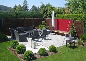 Grüner Sichtschutz Garten : bildergalerie gartenzaun terrasse garten sichtschutz schwimmteich gartenplanung ~ Markanthonyermac.com Haus und Dekorationen