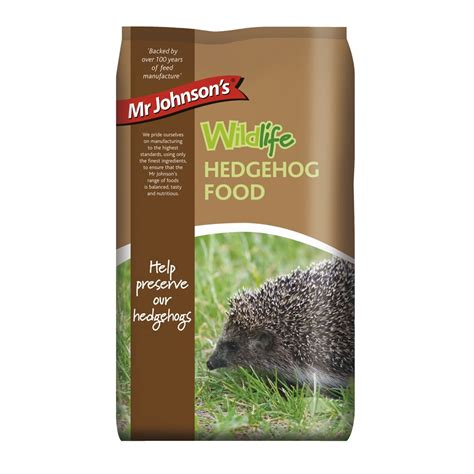 750g cuisine mr johnsons wildlife hedgehog food 750g at wilko com