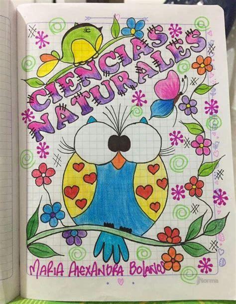 resultado de imagen para imagenes de marcar cuadernos caratulas decorate notebook
