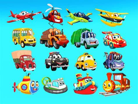 mewarnai gambar mobil sederhana untuk anak tk gambar