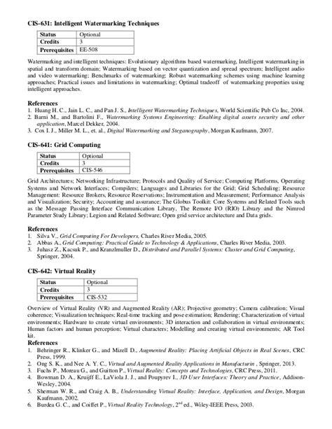 M phil computer_science_coursecontents