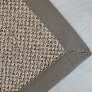 tapis sisal kidara orge ganse taupe 140 x 200 achat With tapis sisal gansé