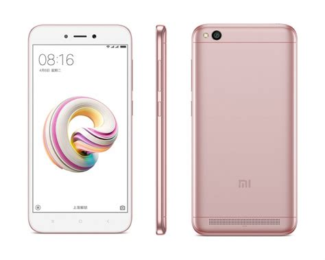 xiaomi redmi 5a officially unveiled in india for rs 4 999