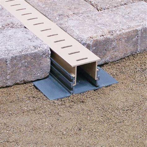 paver drain travertine supply