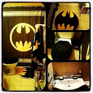 batman bathroom future home sweet home pinterest With batman bathroom stuff