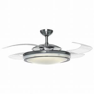 Hunter fanaway retractable blade ceiling fan pendant