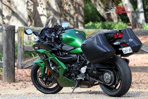 Review Kawasaki H2 by Review 2018 Kawasaki H2 Sx Se Bike Review