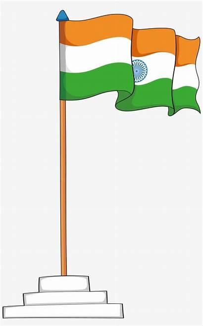 Flag India Clipart Indian Jhanda National Clip