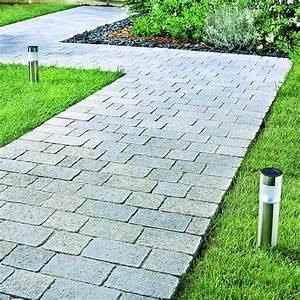 pave en pierre reconstituee pour exterieur pavage tepia With pave pour terrasse exterieur