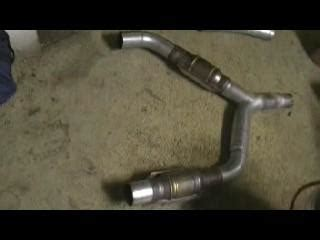 Used Texas Speed Catted Y Pipe Ls1 F Body Ls1tech