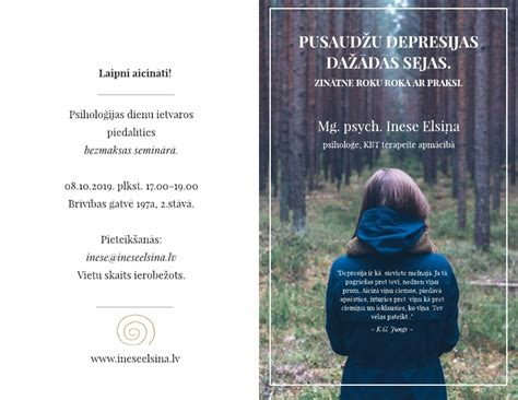 Ineses Elsiņas Privātprakse Psiholoģijā - Aktuāli
