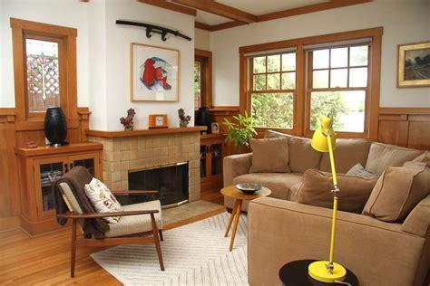 craftsman house  livingdining room crafty