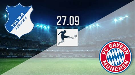 Bayern munich rank at the top of the table after 6 rounds of the league. Hoffenheim vs Munich Prediction: Bundesliga Match | 27.09 ...