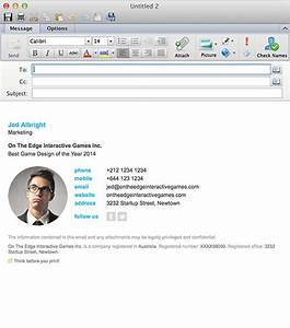 email signatures for outlook mac 2016 With signature templates for outlook