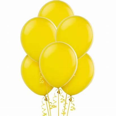 Yellow Balloons Sunshine Icon 15ct 12in Sunburst