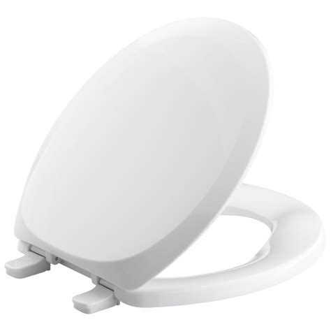kohler french curve  closed front toilet seat