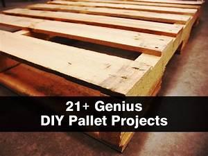 21+ Genius DIY Pallet Projects