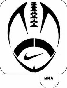 Ohio State Buckeyes Pumpkin Carving Pattern by Mr Hair Art Stencil Nike Football