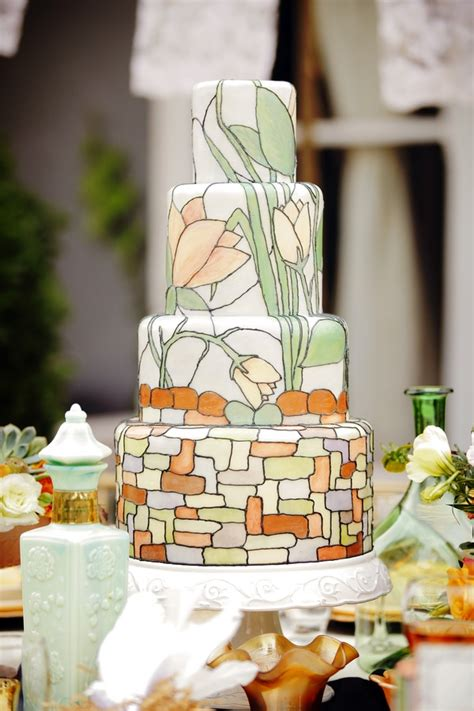 24 Pretty Perfect Art Deco Cakes Aisle Perfect