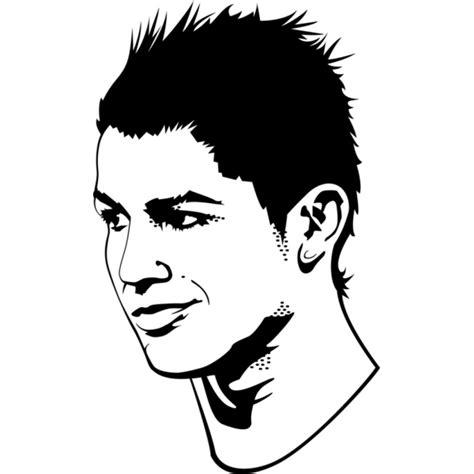 disegni da colorare calcio ronaldo disegno di cristiano ronaldo da colorare per bambini