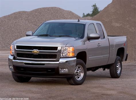 2007 Chevrolet 2500hd And 3500hd Heavy Duty Silverado