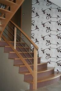 Habillage Escalier Bois : habillage bois 11 ambiance escalier ~ Dode.kayakingforconservation.com Idées de Décoration