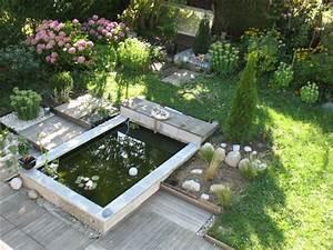 construire un bassin de jardin en pierre bassin de jardin With amenagement petit jardin exterieur 12 avant de realiser une clature