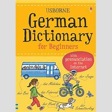"""german Dictionary For Beginners"" At Usborne Books At Home"