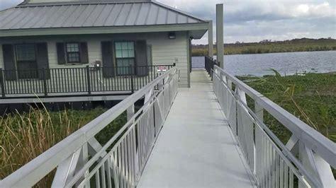 bayou segnette cabins bayou segnette floating cabins walk through doovi