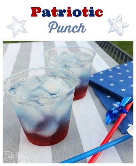 patriotic drink recipes patriotic punch recipe