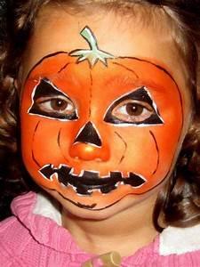 Visage Citrouille Halloween : maquillage halloween enfant 2017 quelques id es et conseils ~ Nature-et-papiers.com Idées de Décoration
