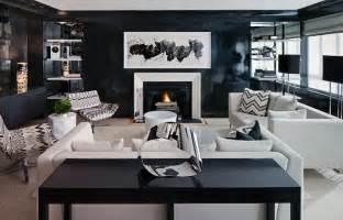 wohnzimmer design grau white and black living room contemporary living room haus interior