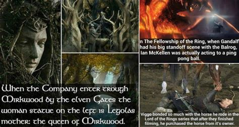 awesome facts  lord   rings   hobbit