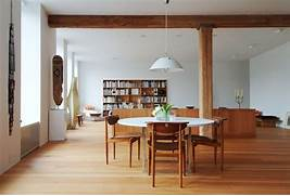 Mid Century Modern Wabi Sabi Interior Design Ideas MID CENTURY MODERN Light For Home Buy Wood Pendant Light Indoor Pendant Light Modern Ceiling Natural Light Open Plan Curved Windows High Ceiling Beautiful Natural Light Flooding In In This Gorgeous Home Home