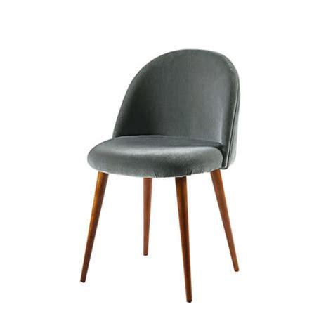 Maison Du Monde Chaise Vintage Mauricette by Anthracite Velvet Vintage Chair Mauricette Maisons Du Monde