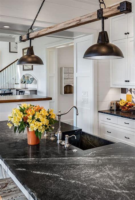rustic kitchen lights south carolina cottage design home bunch interior 2060