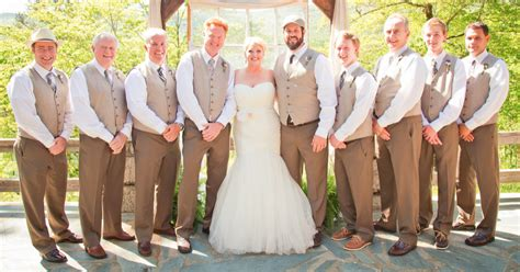 Rustic Wedding Attire for Groomsmen/Groom. Where did you get yours? (vests etc)   Weddingbee