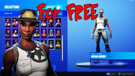 recon expert skin    fortnite