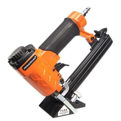 home depot flooring stapler powernail 20 gauge pneumatic hardwood flooring trigger pull stapler kit 20fs the home depot