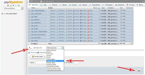 How To Use Phpmyadmin For
