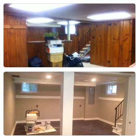 Basement Paneling And Carpet No More Basements Basement