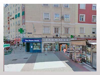 Farmacia Prieto Sastre MADRID Calle del Príncipe de