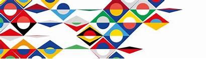 Nations Uefa League Behance Pattern Logos Flag