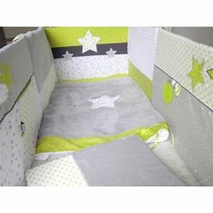 Tour De Lit Vert : tour de lit pour chambre b b sur mesure th me toiles et ~ Teatrodelosmanantiales.com Idées de Décoration