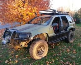 jeep grand cherokee wj build  wjredneck