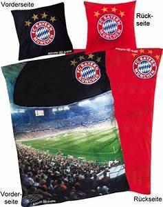 Fc Bayern Bettwäsche : fc bayern m nchen bettw sche 135x200cm baumwolle ebay ~ Watch28wear.com Haus und Dekorationen