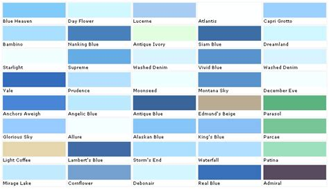 shades of blue color www pixshark images galleries