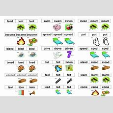 Irregular Verbs In English  Picture Rhymes  Games To Learn English  Games To Learn English